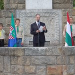 2007., Pesti út, Trianon emlékmű