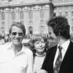 1980, Debrecen, diplomaosztás, szüleimmel