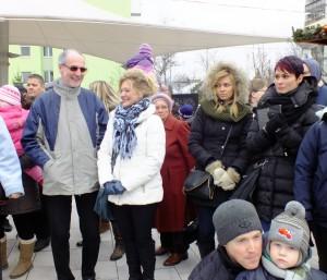 Dunai Mónika országgyűlési képviselővel 2014.-ben