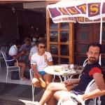 Nagybátyámmal a Gran Canarián 1986-ban